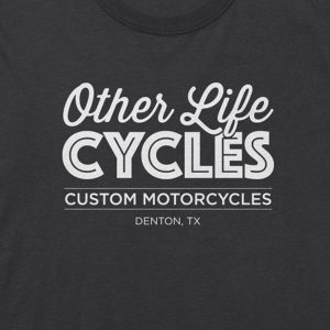 Other Life Cycles O. G. logo Tee – Gray